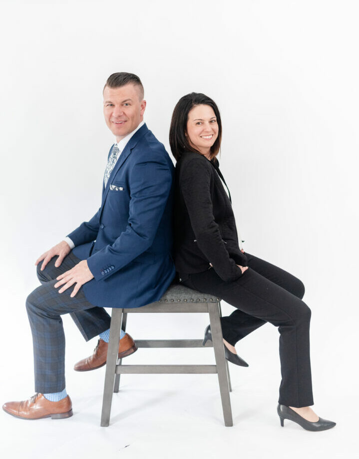 Erin Pavane and Tyler Wentworth, Founders